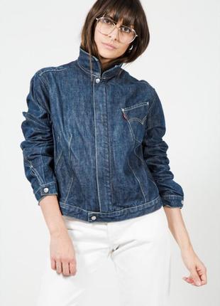 Тренд! винтажная джинсовая куртка levi's8