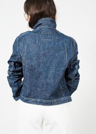 Тренд! винтажная джинсовая куртка levi's9