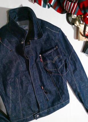 Тренд! винтажная джинсовая куртка levi's3