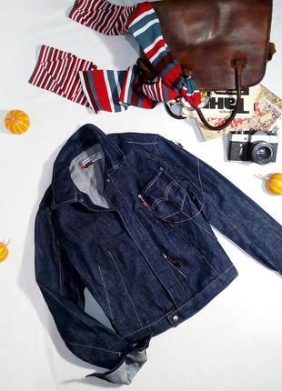 Тренд! винтажная джинсовая куртка levi's2