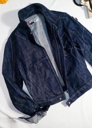 Тренд! винтажная джинсовая куртка levi's5