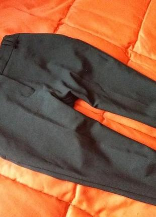 Классические,зауженные брюки со стрелками3 фото