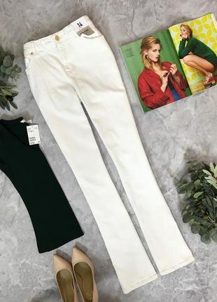 Белоснежные джинсы  pn1907048  denim co