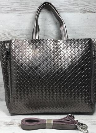 Женская кожаная сумка черная бронза коричневая пудра жіноча шкіряна сумка чорна6