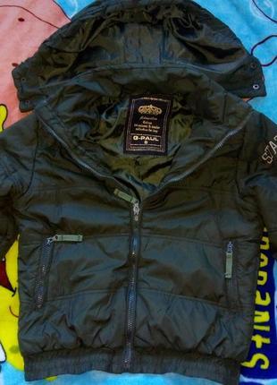 Класна демісезонна куртка на 7-8 років