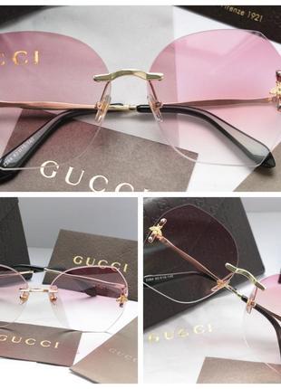 Красивые очки в розовом цвете