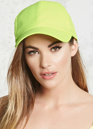 Кепка женская  оригинал бейсболка летние кепки бренд тканевая неон