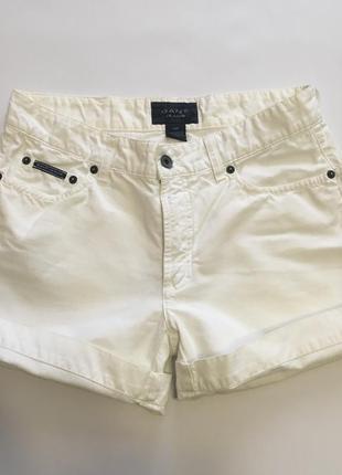 Белые шорты с высокой талией gant оригинал