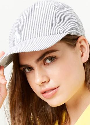 Кепка женская  оригинал бейсболка летние кепки бренд в полоску