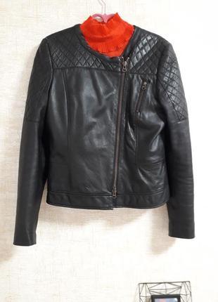 Кожаная косуха.. куртка