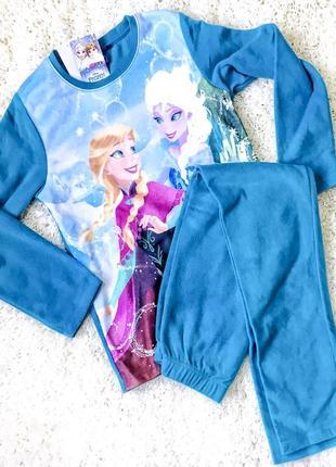 Флисовый домашний костюмчик, пижама frozen.1