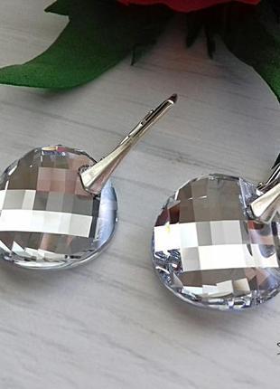 Серьги сваровски зеркала