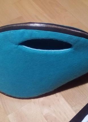Эксклюзивная сумочка из фетра