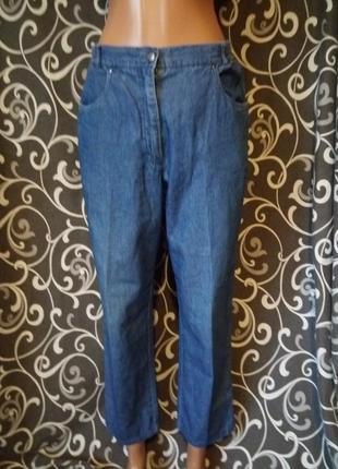 Лёгкие джинсовые брючки