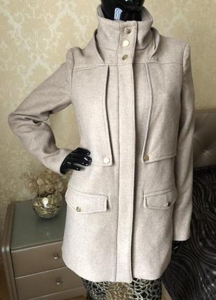 Шикарное пальто, куртка, парка mango. размер s-м.
