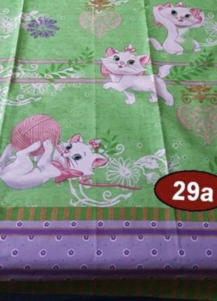 Постельное белье для девочки кошечка мари