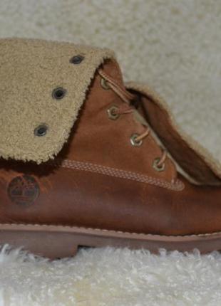 Timberland 38р ботинки  кожаные. оригинал. демисезон-зимние1