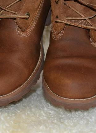 Timberland 38р ботинки  кожаные. оригинал. демисезон-зимние3