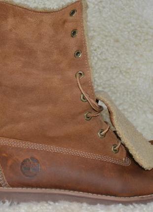 Timberland 38р ботинки  кожаные. оригинал. демисезон-зимние5