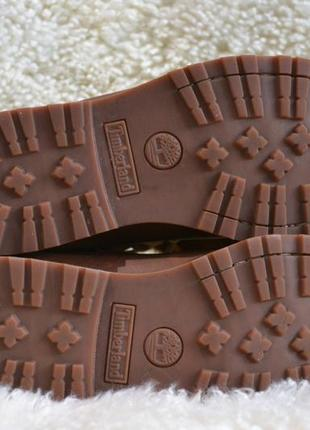Timberland 38р ботинки  кожаные. оригинал. демисезон-зимние6