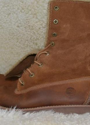 Timberland 38р ботинки  кожаные. оригинал. демисезон-зимние7