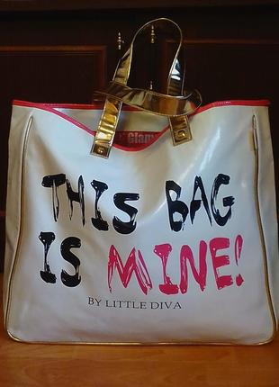 Брендовая,шикарная,новая сумка,дорожная сумка от бренда little diva.
