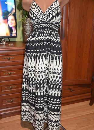 Шикарное платье сарафан5 фото