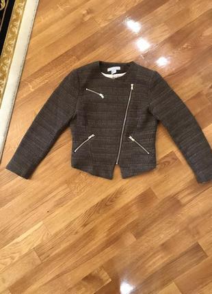 Твидовый пиджак, косуха