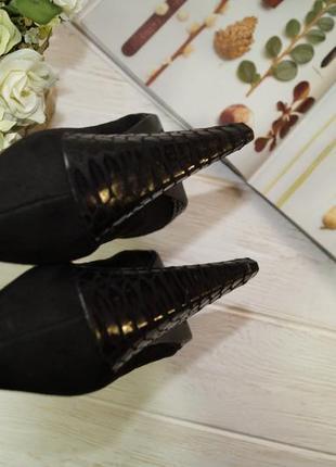 Limited. женственные туфли лодочки на устойчивом каблуке4