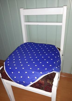 Подушки, подстилки, сидушки на стулья 6 шт.