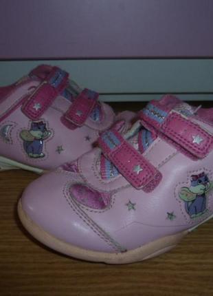 Кожаные кроссовочки кларкс для вашей девочки