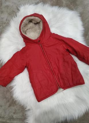 Теплі деми куртка 92