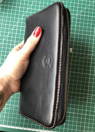 Коженый кошелек, шкіряний гаманець, портмоне2