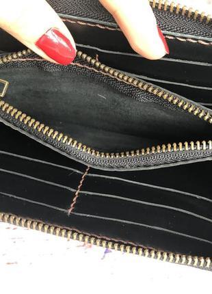 Коженый кошелек, шкіряний гаманець, портмоне4