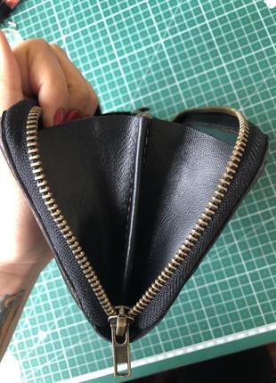 Коженый кошелек, шкіряний гаманець, портмоне5
