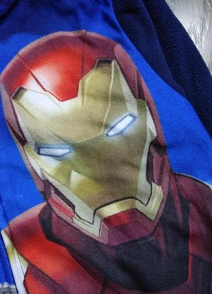 122р marvel слип пижама кигуруми флисовый комбинезон человечек4
