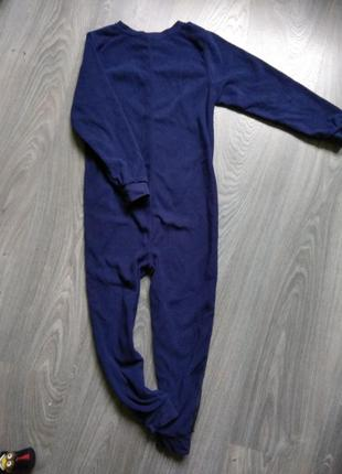 122р marvel слип пижама кигуруми флисовый комбинезон человечек8
