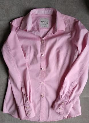 Розовая рубашка esprit