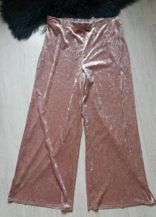 Велюровые брюки с напылением 20р