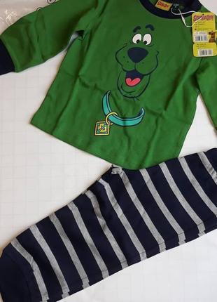Брендовый комплект пижама на мальчика 2 года.  original marines. италия.