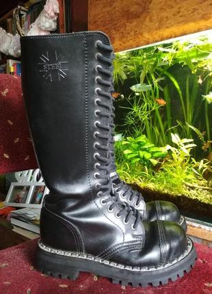 Ботинки, сапоги на шнуровке, стилы, гады steel