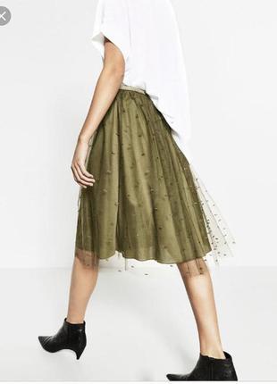 Фатиновая юбка от zara