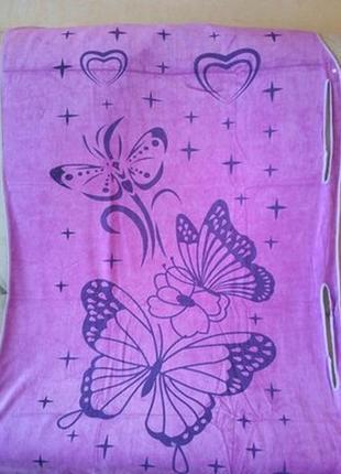 Полотенце халат бабочки на кнопках