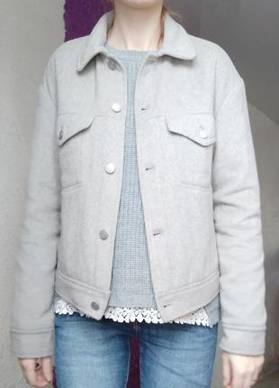 Куртка пиджак gap шерсть