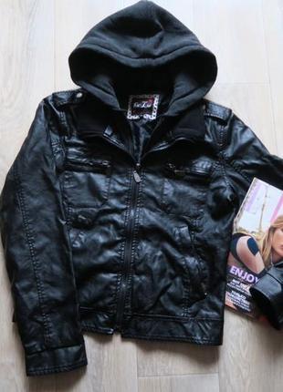 Кожаная куртка,  кожанка,  куртка из эко кожи