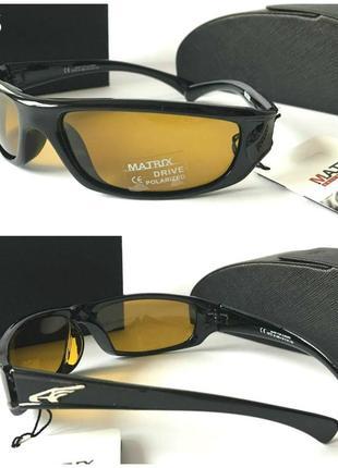 Мужские солнцезащитные очки ночное вождение линзы с поляризацией водительские