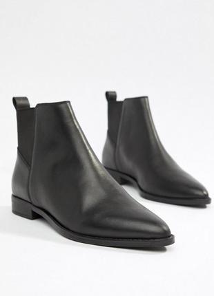 Кожаные ботинки asos (новые)