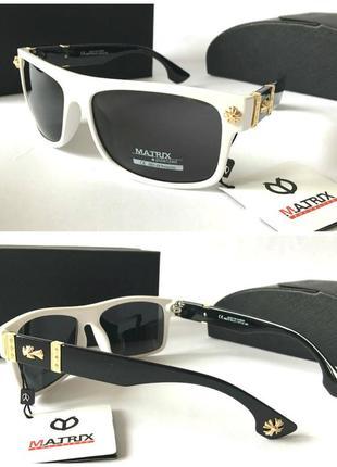 Мужские солнцезащитные очки линзы поляризованные качество отличное