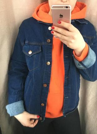 Трендовая джинсовка/джинсовая куртка/джинсовый пиджак!