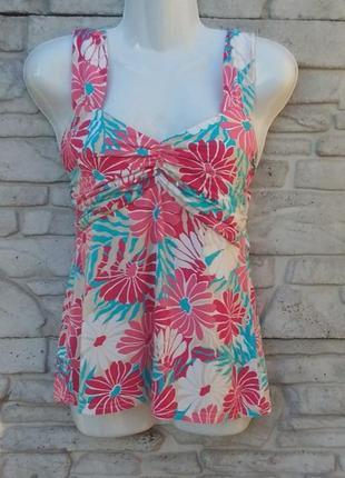 Распродажа!!! красивая блуза в цветочный принт
